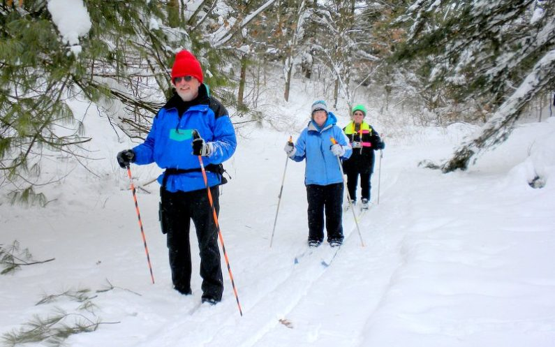 Cross-country Skiing at Moraine State Park