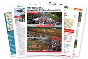 Handouts on hosting your Pittsburgh sport tournament at our Butler sporting venues and sites
