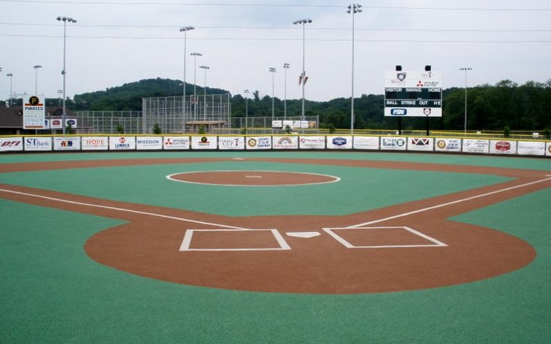 Miracle League Field for baseball events