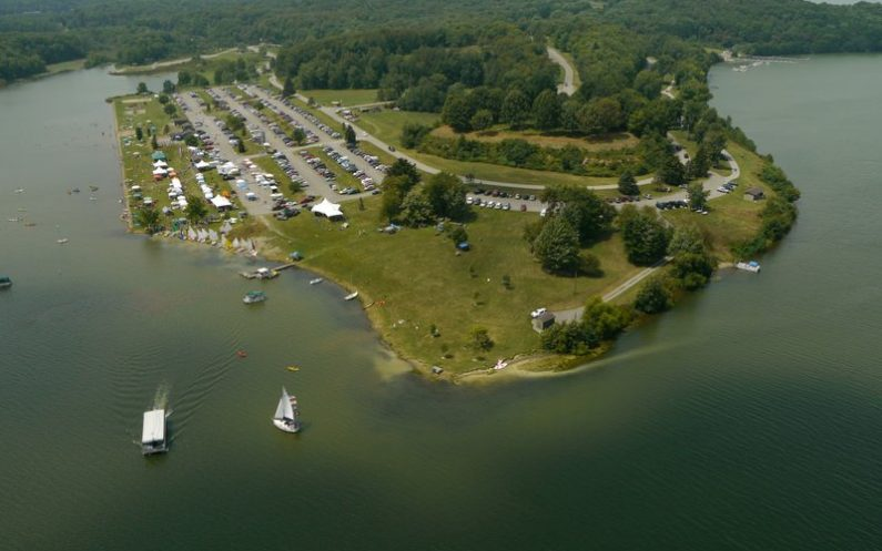 Lake Arthur Regatta outdoor event