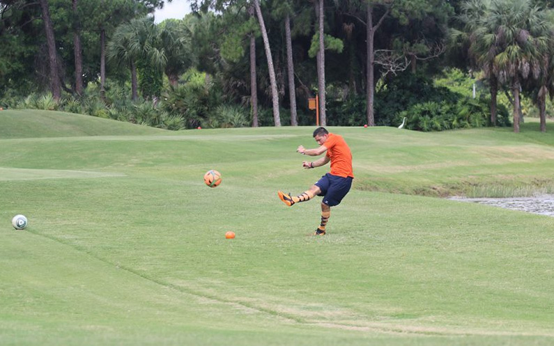 outdoor sport foot golf western PA