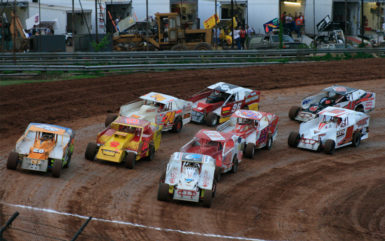 dirt race track in Butler PA