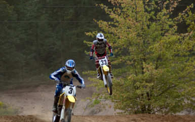 race track for dirt bikes in Western PA