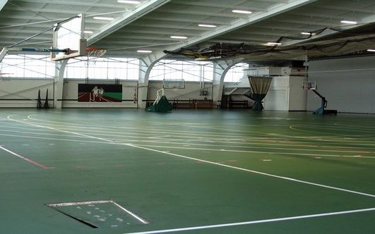 slippery rock university indoor track venue