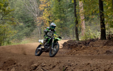 large venue for ATV and dirt bike races