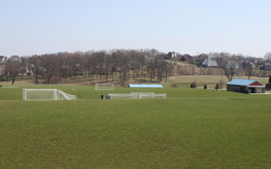 large outdoor venue for soccer tournament